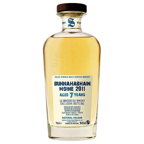 Bunnahabhain Moine 2011 Signatory Islay Single Malt Scotch Whisky