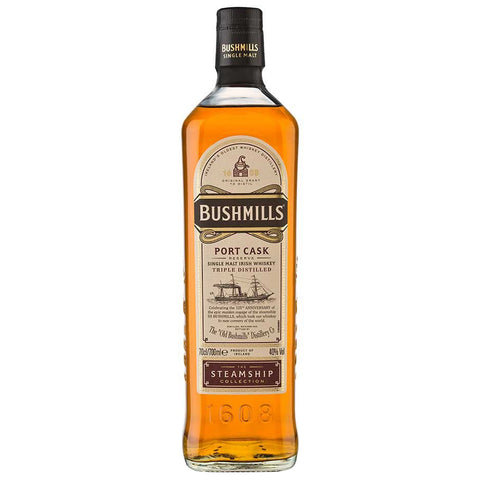 Bushmills Steamship Port Cask Irish Single Malt Whiskey