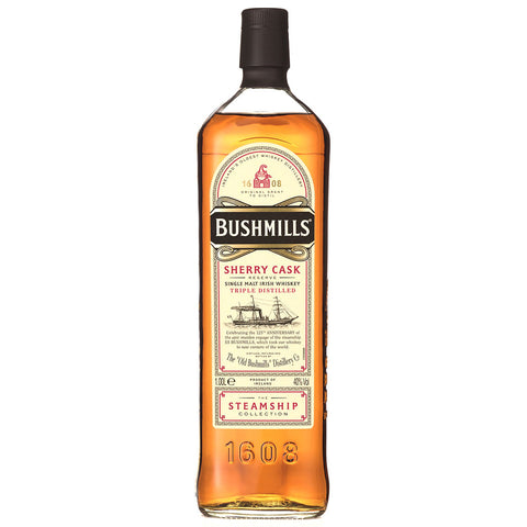 Bushmills Steamship Sherry Cask Irish Single Malt Whiskey