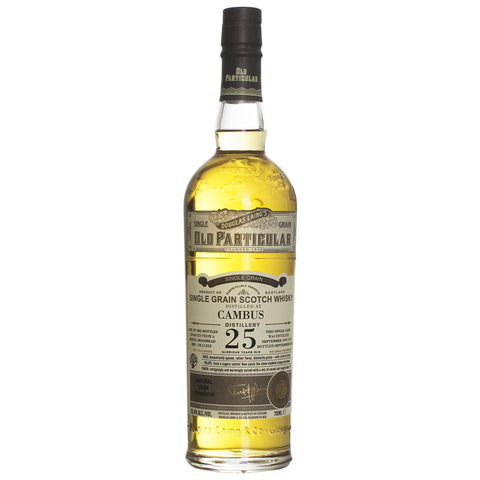 Cambus 25yo Old Particular Single Grain Scotch Whisky