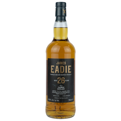 Cambus 26yo James Eadie Single Grain Scotch Whisky