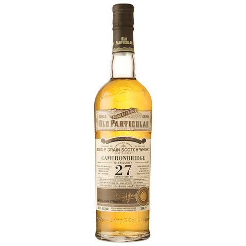 Cameronbridge 27yo Old Particular Single Grain Scotch Whisky