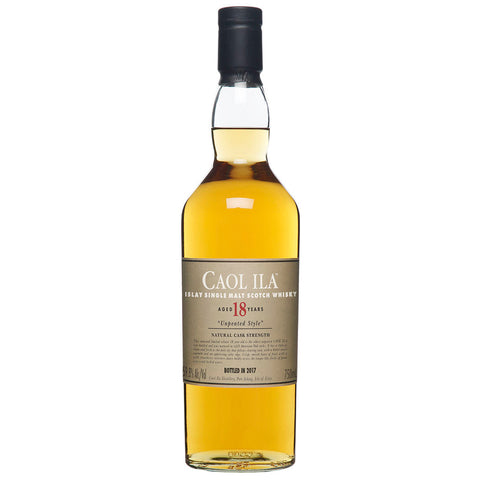 Caol Ila 18yo 2017 Release Islay Scotch Single Malt Whisky