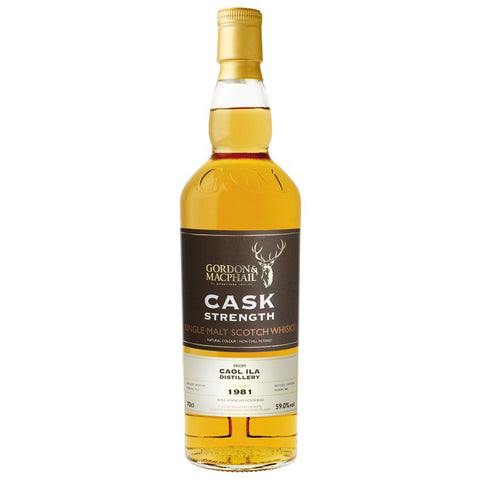 Caol Ila 34yo G&M Islay Single Malt Scotch Whisky