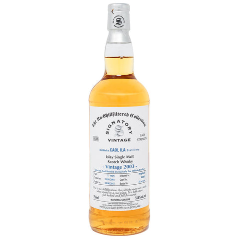 Caol Ila WB Single Cask Islay Scotch Single Malt Whisky