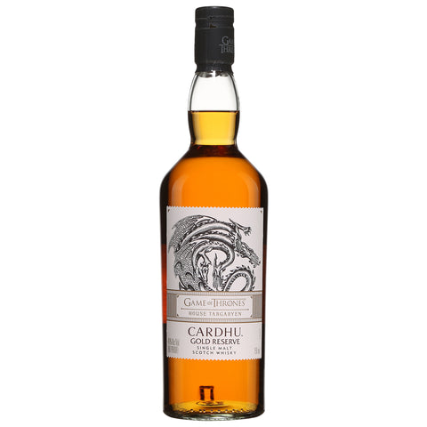 Cardhu Game of Thrones House Targaryen Scotch Single Malt Whisky