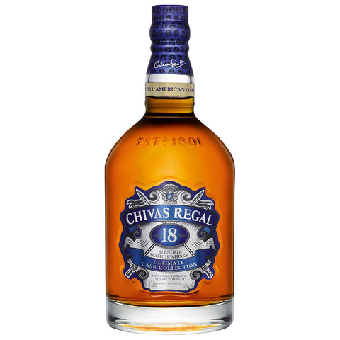 Chivas Regal 18 Year Old Ultimate Cask Collection Blended Scotch Whisky