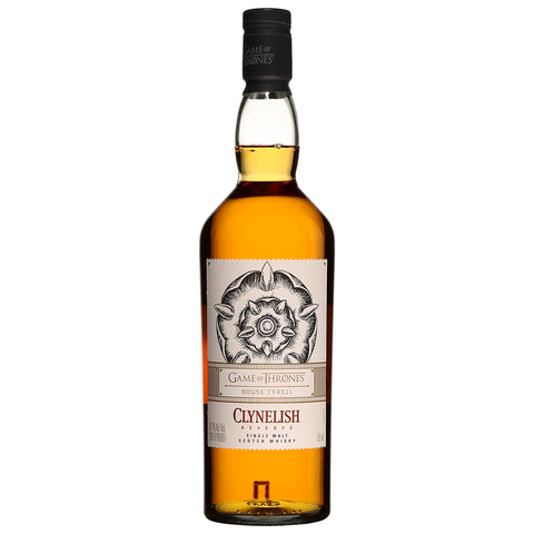 Clynelish Game of Thrones House Tyrell Scotch Single Malt Whisky