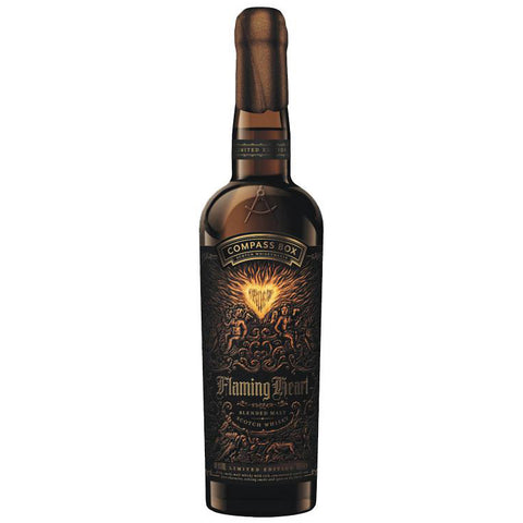 Compass Box Flaming Heart 6th Release Blended Malt Scotch Whisky