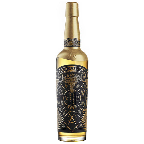 Compass Box No Name No 2 Blended Malt Scotch Whisky