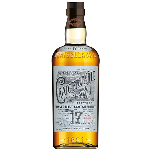 Craigellachie 17yo Speyside Single Malt Scotch Whisky