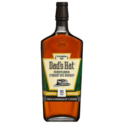 Dad's Hat Straight Rye 95 Proof American Whiskey