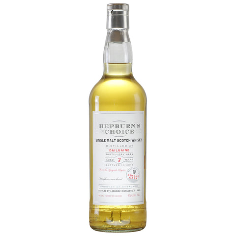 Dailuaine 7 Year Old Hepburn's Choice Speyside Single Malt Scotch Whisky