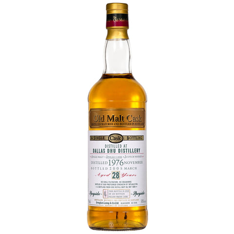 Dallas Dhu 28yo Old Malt Cask Speyside Single Malt Scotch Whisky