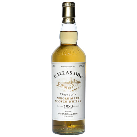 Dallas Dhu 34 Year Old Gordon & Macphail Single Malt Scotch Whisky