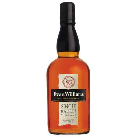 Evan Williams Single Barrel 2010 American Bourbon Whiskey
