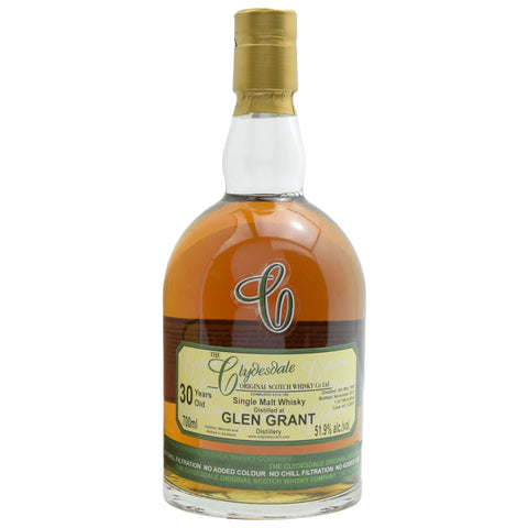 Glen Grant 30yo Clydesdale Speyside Single Malt Scotch Whisky