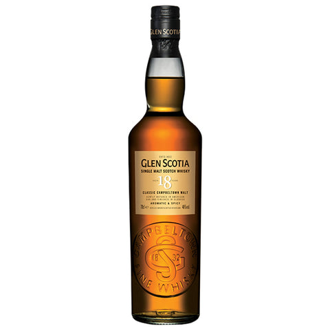 Glen Scotia 18 Year Old Campbeltown Single Malt Scotch