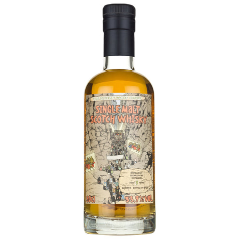 Glenallachie 10 Year Old B3 Boutiquey Speyside Single Malt Scotch Whisky