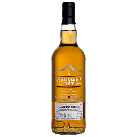 Glenburgie 10 Year Old Distiller's Art Speyside Single Malt Scotch Whisky