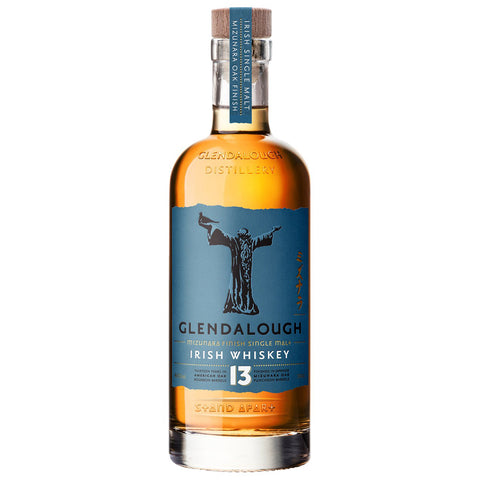 Glendalough 13yo Mizunara Finish Single Malt Irish Whiskey