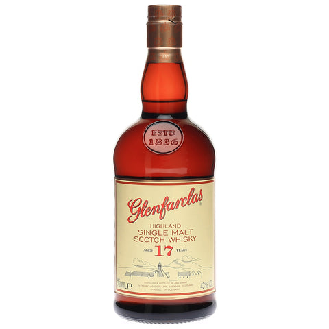 Glenfarclas 17yo Speyside Scotch Single Malt Whisky