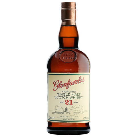 Glenfarclas 21yo Speyside Scotch Single Malt Whisky
