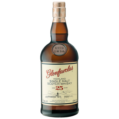 Glenfarclas 25yo Speyside Single Malt Scotch Whisky