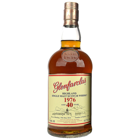 Glenfarclas 40 Year Old Family Series 1976 Speyside Single Malt Scotch Whisky
