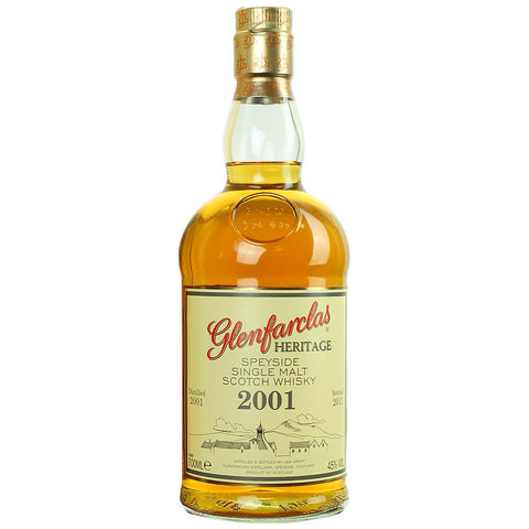 Glenfarclas Heritage 2001 Speyside Single Malt Scotch Whisky