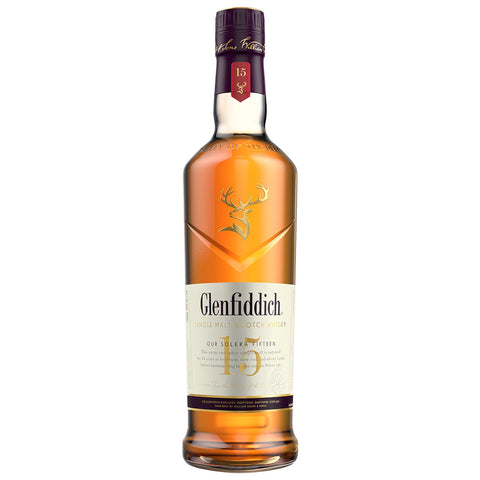 Glenfiddich 15yo Solera Speyside Scotch Single Malt Whisky