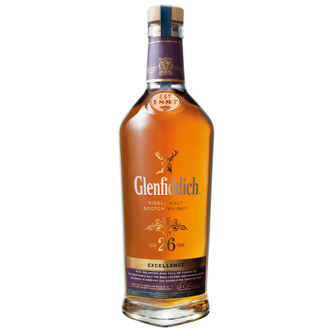 Glenfiddich 26yo Excellence Speyside Single Malt Scotch Whisky