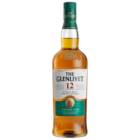Glenlivet 12 Year Old Speyside Scotch Single Malt Whisky