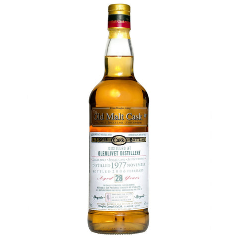 Glenlivet 28yo Old Malt Cask Speyside Single Malt Scotch Whisky