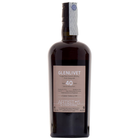 Glenlivet 40yo LMDW Speyside Single Malt Scotch Whisky