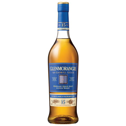 Glenmorangie 15yo Cadboll Estate Highland Single Malt Scotch Whisky