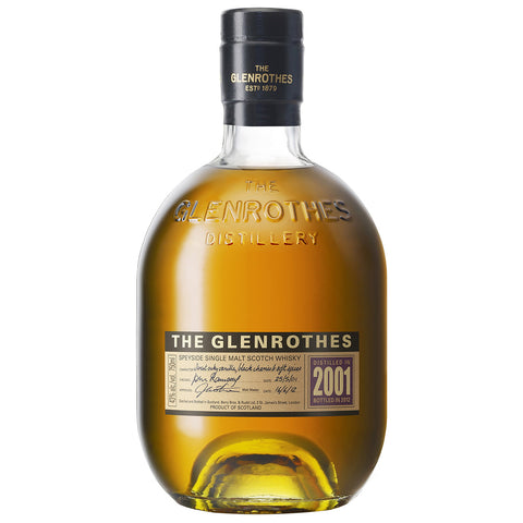 Glenrothes 2001 Speyside Scotch Single Malt Whisky