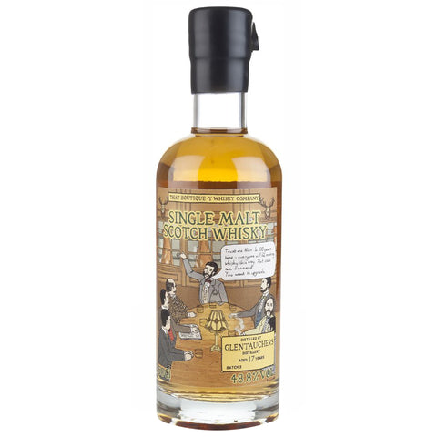 Glentauchers 17 Year Old Boutiquey Speyside Single Malt Scotch Whisky