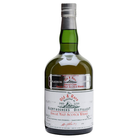 Glentauchers 30 Year Old Old and Rare Speyside Single Malt Scotch Whisky