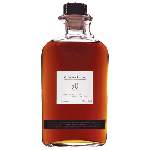 Glenury Royal 50 Year Old Highland Single Malt Scotch Whisky