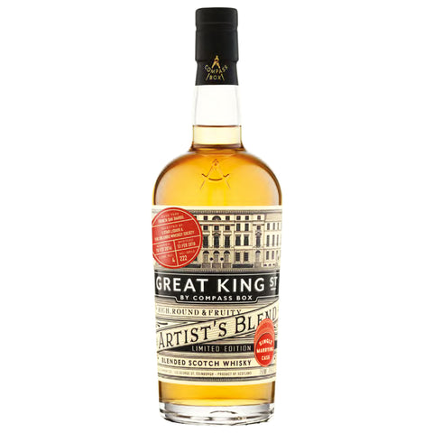 Great King Street Artist's Blend WhiskyBrother Single Marrying Cask