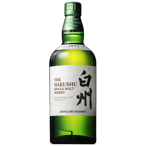 Hakushu Distiller's Reserve Single Malt Japanese Whisky