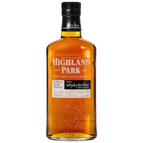 Highland Park 12 Year Old WhiskyBrother Scotch Single Malt Whisky