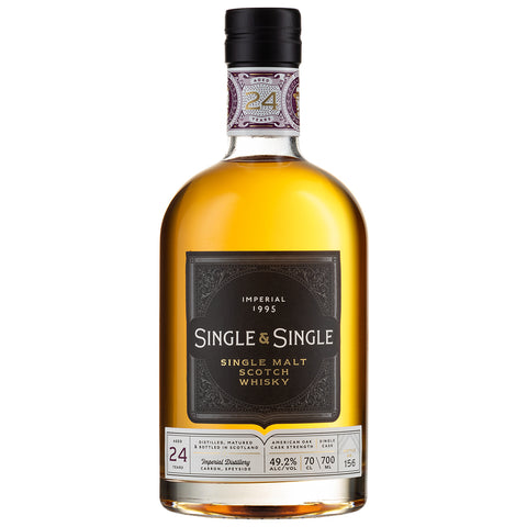 Imperial 24 Year Old Single & Single Speyside Scotch Single Malt Whisky