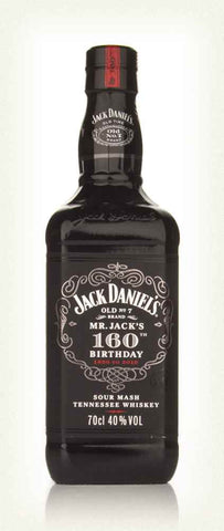 Jack Daniels Mr Jacks 160th Birthday
