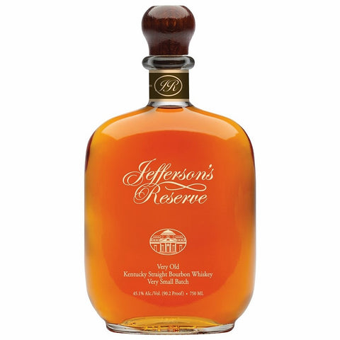 Jefferson's Reserve Very Old straight bourbon American whiskey