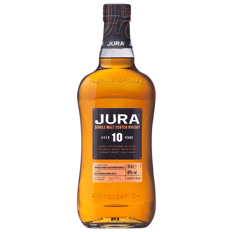 Jura 10 Year Old Islands Single Malt Scotch Whisky