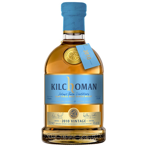 Kilchoman 2010 Vintage Islay Single Malt Scotch Whisky
