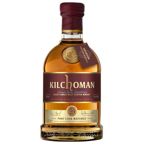 Kilchoman Port Cask Matured 2018 Islay Single Malt Scotch Whisky