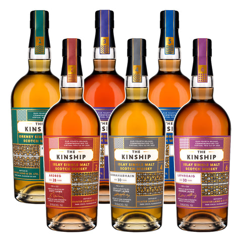 9-Dec The Kinship Whisky Online Tasting
